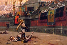 Colosseum tijdens haar glorietijd